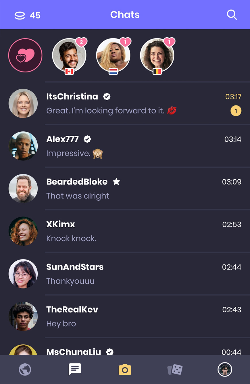 All your chats in one place.